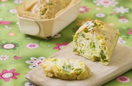 Recette de mini-cakes aux légumes et au thon