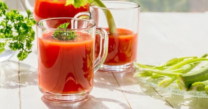 Recette de gaspacho de tomates régime