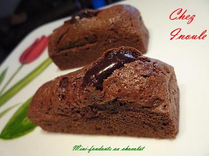 Recette de mini-fondants au chocolat