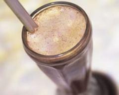 Recette milk shake danette chocolat, banane