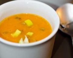 Recette soupe au potiron et marrons