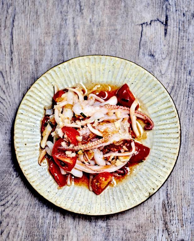 Tartines tomate et cream cheese pour 4 personnes recette - Cuisiner la seiche fraiche ...