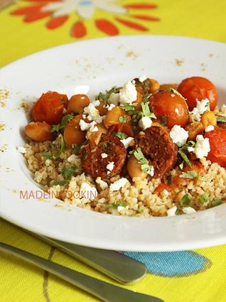 Recette de ragoût de chorizo et haricots blancs