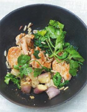 Sauté de porc au soja pour 4 personnes