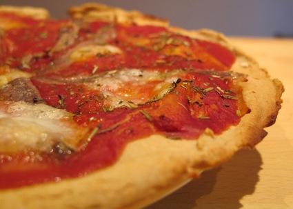 Recette de pizza napolitaine sans gluten