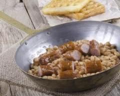 Haricots blancs et saucisses | cuisine az