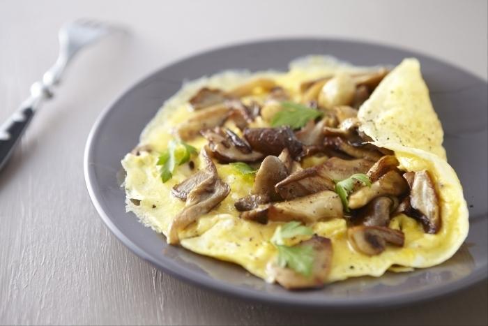 Recette de omelette aux champignons facile et rapide