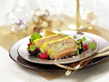 Recette de foie gras à la fourme de montbrison
