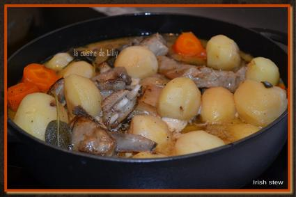 Recette de ragoût d'agneau irish stew