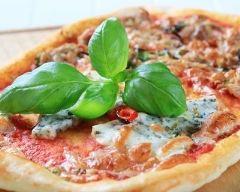 Recette pizza au thon et bleu d'auvergne