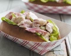 Recette sandwichs au homard