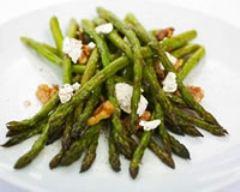 Recette salade asperges-chevre