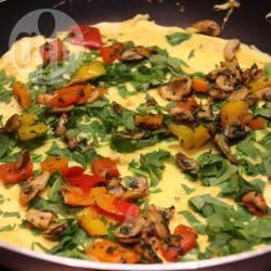 Recette omelette épinards et champignons – toutes les recettes ...