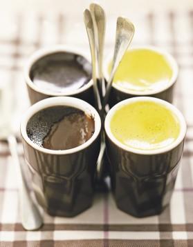 Pots de crème au chocolat pour 8 personnes