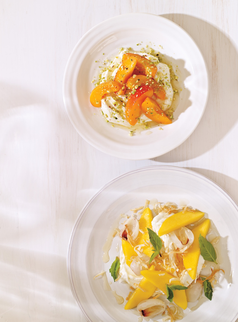 Salade de mangue et litchis | ricardo