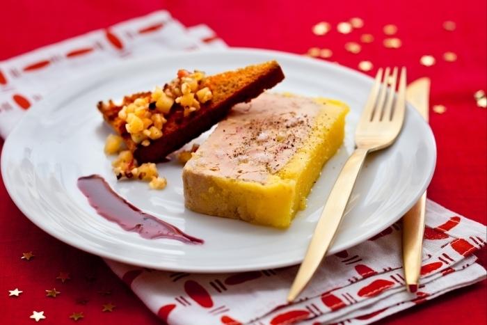 Recette de terrine de foie gras au calvados, réduction épicée facile