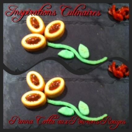Recette de panna cotta aux poivrons rouges