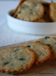 Recette de biscuits aux graines et au parmesan bio sans gluten ni ...