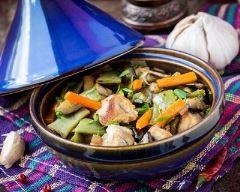 Recette tajine d'agneau aux légumes