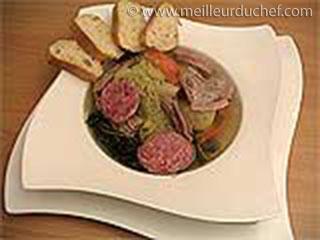 Soupe aux choux  notre recette avec photos  meilleurduchef.com