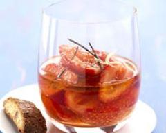 Recette salade de fraises à l'huile d'olive des baux-de-provence ...