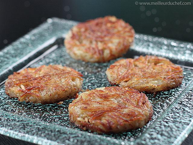 Pommes darphin  recette de cuisine avec photos  meilleurduchef ...