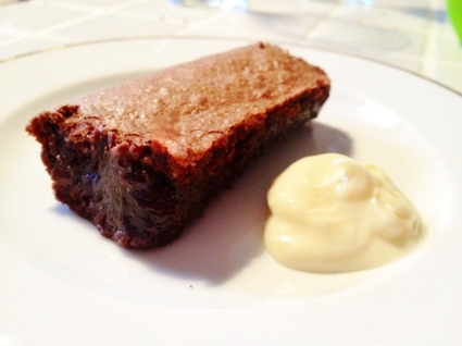 Recette de moelleux au chocolat et poudre d'amandes