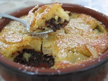 Recette amandines poire-chocolat