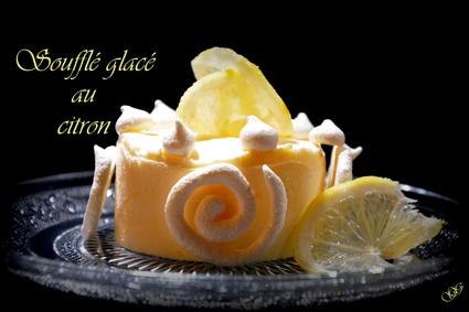 Recette de soufflé glacé au citron
