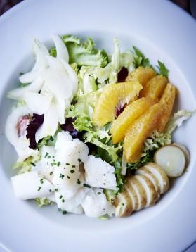 Salade de morue pour 4 personnes