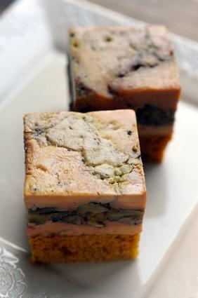 Recette de foie gras, petites pommes antarès et noix de pécan
