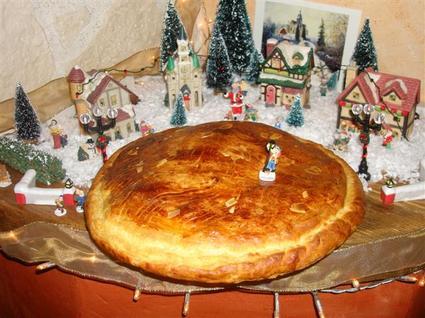 Recette de galette des rois amande-pralin