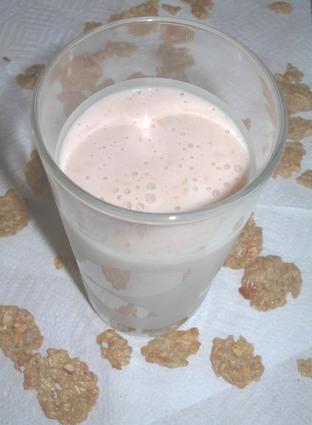 Recette de milk-shake énergétique