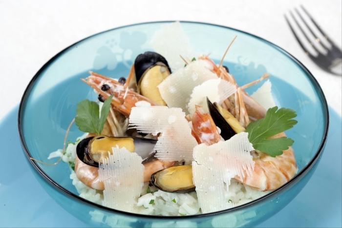 Recette de risotto aux fruits de mer facile et rapide