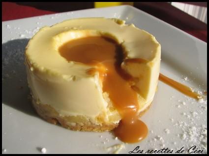 Recette entremets mousse vanillé au mascarpone