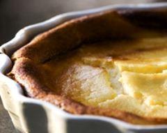 Recette tarte à la ricotta et aux poires
