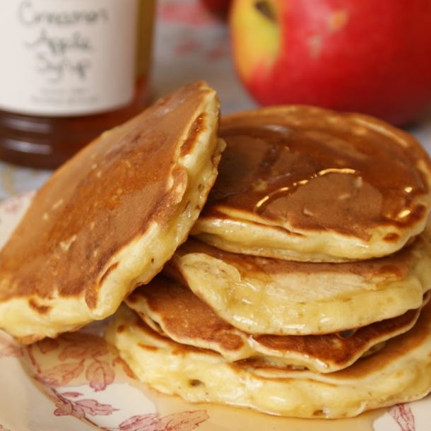 Recette pancakes aux pommes râpées