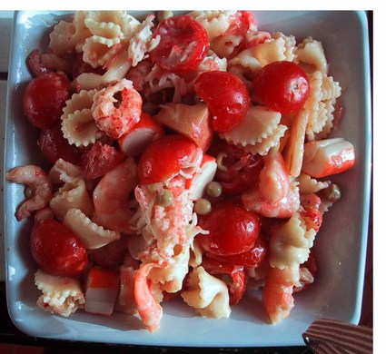 Recette de salade de pâtes estivale