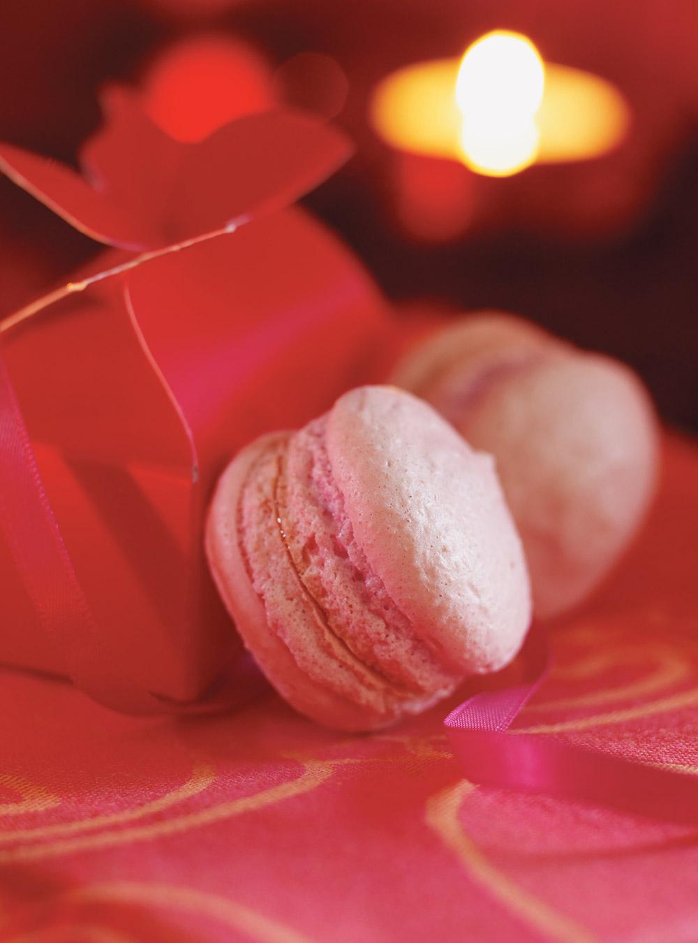 Macarons rose bonbon | ricardo