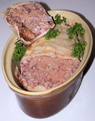 Recette de terrine de foies de volaille à l'armagnac