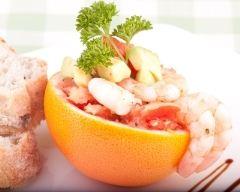 Recette pamplemousse aux crevettes