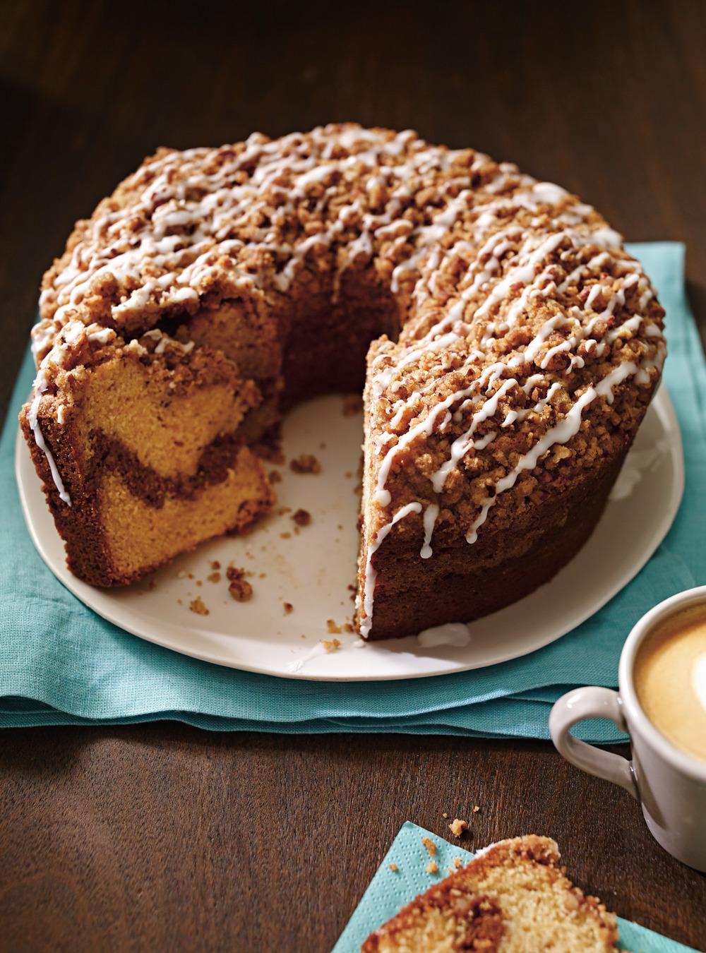 Gâteau à la cannelle et aux pacanes (coffee cake) | ricardo