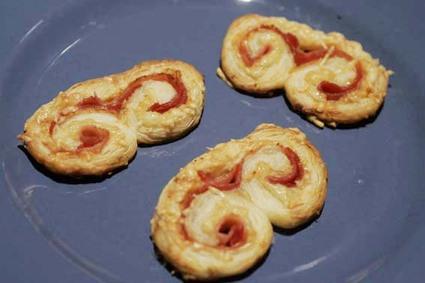 Recette de palmiers jambon-fromage