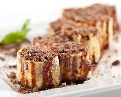 Recette maki de crêpes au chocolat simple