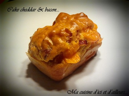 Recette de mini-cakes cheddar et bacon