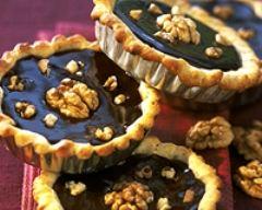Recette tartelettes au chocolat et aux noix