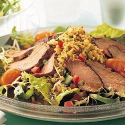 Recette taboulé de canard aux agrumes – toutes les recettes ...