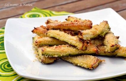 Recette de courgettes au parmesan pour l'apéro