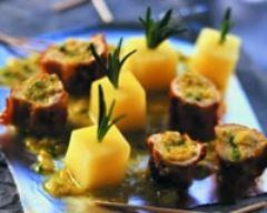 Recette tapas de lapin à la tapenade d'olives vertes