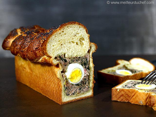 Pâté de pâques alsacien brioché  recette de cuisine avec photos ...